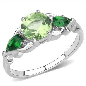 Cute Green Stone Ring